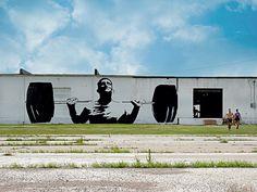 Lawton, OK #streetart #mural