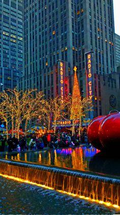 New York in December