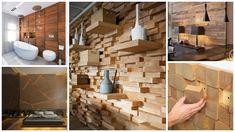 Pereți artistici din lemn - http://ideidesigninterior.ro/pereti-artistici-din-lemn/