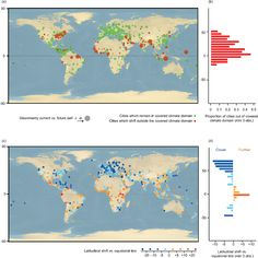 Understanding climate change from a global analysis of city analogues