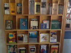 Abilities Awareness Bookshelf at the coffee house. Books by and about individuals with disabilities. Bookshelves, Bookcase, Health Care, Coffee, House, Home Decor, Kaffee, Bookcases, Decoration Home