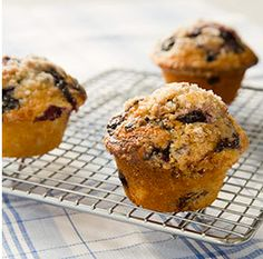 Want to make blueberry muffins? Really perfect blueberry muffins? Look no further than this America's Test Kitchen recipe -- it requires one more step than usual, but it's so worth it.  Photo courtesy America's Test Kitchen
