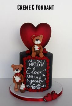 All you need cake by Creme & Fondant