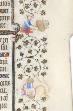 Book of Hours, MS M.919 fol. 214r - Images from Medieval and Renaissance Manuscripts - The Morgan Library & Museum