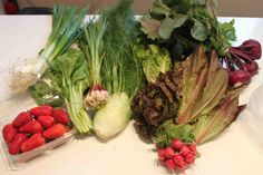 Cooking Through My CSA Box - Great blog which showcases how to eat and cook proper!
