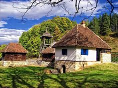 Tršić, birthplace of Vuk Karadžić, Serbia Medieval Houses, Medieval Castle, Serbia And Montenegro, Vernacular Architecture, Stone Houses, Belgrade, Serbian, Travel And Tourism, Macedonia
