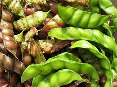 ☀Gandules☀ Pidgeon Peas...used to make  arroz con gandules ( rice with pidgeon peas), a traditional Puerto Rican side dish.