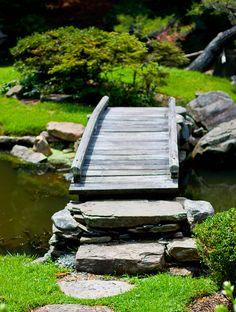 Wooden Bridge at Shofuso House by TaniaGail, via Flickr