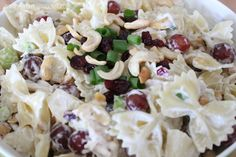 OH. MY. GOSH. This is seriously the best pasta salad in the history of EVER. A total crowd pleaser, I get asked for this recipe all the time!