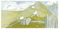 : : Laura Boswell - Printmaker - Print gallery : : linocut