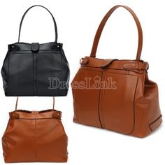 Women's Fashion Retro Engine Pattern PU Leather Handbag Tote Bag Shoulder Bag Looks like a great deal!