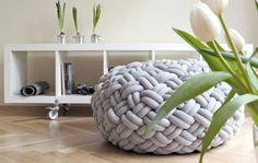 Tie Me Up, Tie Me Down: Knotty Floor Cushions by Kumeko