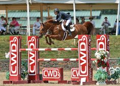 Laura Chapot and Quointreau Un Prince get some serious height over the CWD fence in Friday's $ 25,000 SmartPak Grand Prix, presented by Pfizer Animal Health, at HITS Saugerties. ©ESI Photography