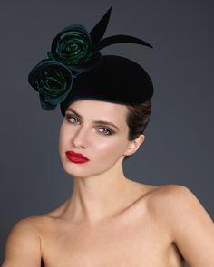 OC 810 | Philip Treacy London Flapper Headpiece, Headdress, Philip Treacy Hats, Cocktail Hat, Love Hat, Wedding Hats, Hat Hairstyles, Derby Hats, Hats For Women