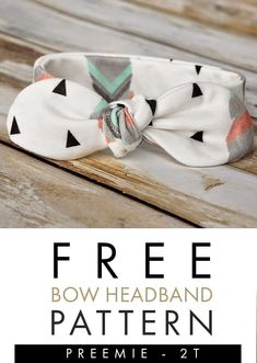 Learn how to make baby headbands with this free DIY baby bow headband pattern! Make in sizes months - So easy to make! Baby Headband Tutorial, Headband Pattern, Diy Headband, Bow Tutorial, Flower Tutorial, Baby Turban, Make Baby Headbands, Diy Accessoires, Baby Sewing Projects