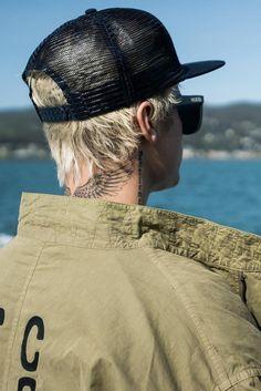 Justin Bieber - Enjoying the ocean view