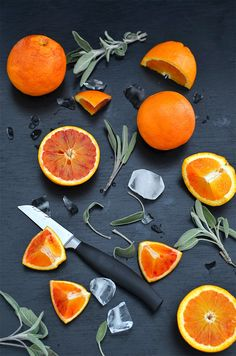 {Happy Hour} Blood Orange & Sage Mule Rezept von @sarahkrisenherd