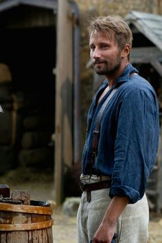 "Matthias Schoenaerts as Gabriel Oak from ""Far From the Madding Crowd""."