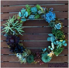 ★ DIY Garden Crafts & Outdoor Decoration Ideas | Tutorial Roundup ★; just a pic but lots of outdoor crafts on this site