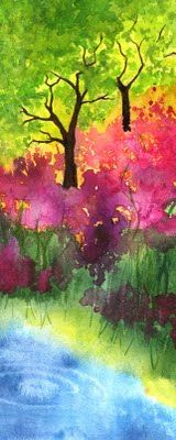 beautiful water color - I adore this, just... well.... just love it.  thanks Sherry and Melissa for pinning and re-pining so I get to enjoy it.