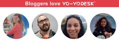 Bloggers LOVE our Yo-Yo Desk®! Business Tips, Online Business, Healthy Environment, Office Ideas, Workplace, Insight, Desk, Activities, Marketing