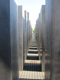 #Memorial to the murdered Jews of Europe, #Berlin