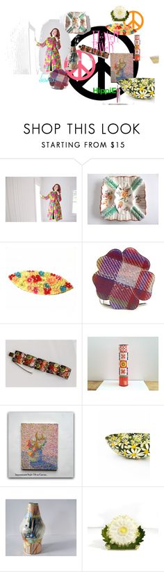 """""""FLoWer PoWeR"""" by gentlemanlypursuits ❤ liked on Polyvore featuring vintage"""