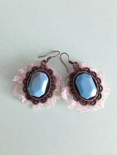 Looking for your next project? You're going to love vintage earrings by designer NataliaRomanova.