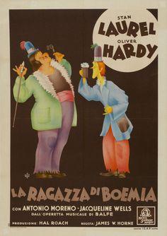 """En la concepción del artista italiano G. Canestrari, a favor de """"The Bohemian Girl"""", del director estadounidense James W. Horne."""