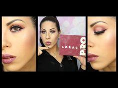 LORAC MEGA PRO PALETTE TUTORIAL - YouTube