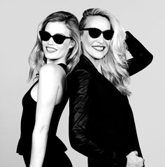 Georgia May Jagger and Jerry Hall in Their New Sunglass Hut Campaign