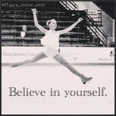 I can't wait to be a figure skater it's just something I love to do on my free time