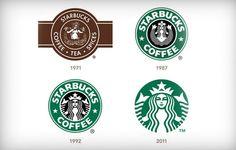 10 Big Brand Logo Transformations: Yahoo; Apple; Starbucks; Microsoft; Firefox; Canon; Wendy's; NBC; McDonald's; Lego;
