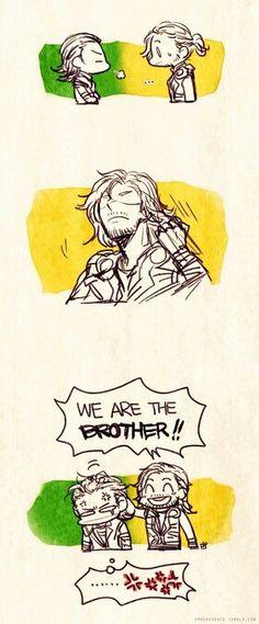 asgardian brothers 2/2