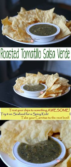 Roasted Tomatillo Salsa Verde Collage1