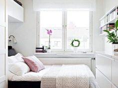 Espacio de almacenamiento en habitaciones pequeñas
