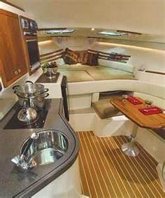 Image detail for Grady-White Express 360 Fishing Boat Sailboat Interior, Yacht Interior, Interior Design, Grady White Boats, Cabin Cruiser Boat, Sailboat Yacht, Boating Tips, Small Yachts, Sailboat Living