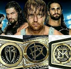 Roman Reigns Dean Ambrose & Seth Rollins all been WWE World Heavyweight Champion