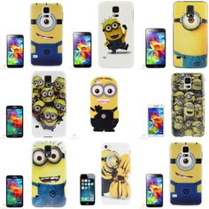 Schütze und style Dein Handy mit der Handyhülle in der süßen Comic-Karikatur im Minions-Design-Handycover Provide protection for all corners and sides of your phone against bumps and scratches. Easily access all functions without removing the case. Cool special color and design cartoon makes your phone in fashion