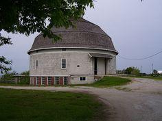 Champaign-Urbana IL - University of Illinois Dairy Round Barn