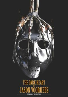 First Poster for Documentary 'The Dark Heart of Jason Voorhees: The Making of the Final Friday' Horror Posters, Horror Icons, Cinema Posters, Horror Art, Movie Posters, Scary Movies, Horror Movies, Horror Villains, Horror Photos