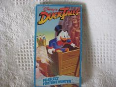 VHS DUCK TALES-FEARLESS FORTUNE HUNTER