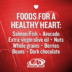 Eat these heart-healthy foods!