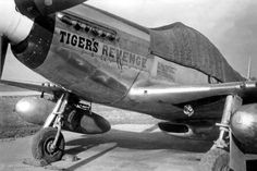 "North American P-51D Mustang 44-11342 OS-F ""Tiger's Revenge"".  Photo © William S. Lyons"