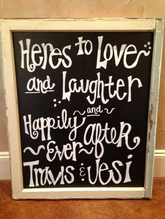 DIY Wedding Signs and Wedding Chalkboard Signs    Go Pro or DIY for Your Wedding? - Wedding Dash Blog Post