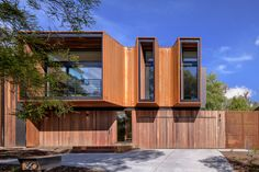 Residential Architecture, Architecture Design, Steel Cladding, Weathering Steel, Broken Window, Tree Canopy, Corten Steel, Living Environment, Architect House