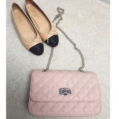 Express quilted chain strap shoulder bag Brand new never used. Chanel look alike. NO TRADES. Shoes are not for sale. This bag has amazing reviews. Express Bags Shoulder Bags