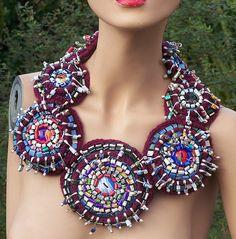 Mona Luison - Art Sculpture Textile (Emmanuelle Loison) - Upcycling