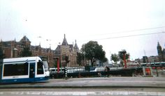 Outside Amsterdam Centraal Station