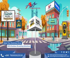 Bring your brand to life with 100% custom-tailored design. Whatever might be your business type Outdoor services provides top-notch designing & development services.  Email- astardigitalzone@gmail.com Visit- www.astarinnovation.com  #DigitalMarketing #AStarInnovation #Inshop #outdooradvertising #outdoormedia #outdoorbranding #OutdoorBrandingSolution #Branding #BrandBuilding #BusinessSolution #InshopBranding #Discover #StrongImage #DigitalMedia #Ampify #DigitalMediaMarketing… Out Of Home Advertising, Digital Media Marketing, Brand Building, Design Development, Innovation, Branding, Type, Business, Outdoor